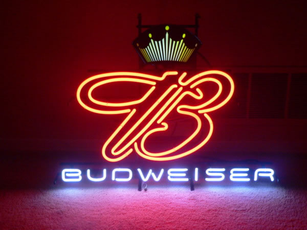 Labatt S Budweiser Neon Bar Sign